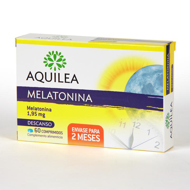 Farmacia Jiménez   Aquilea Melatonina 60 comprimidos