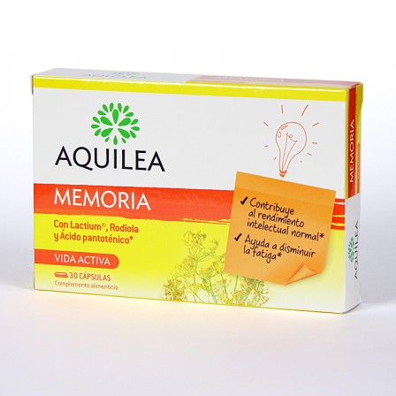 Farmacia Jiménez | Aquilea Memoria 30 cápsulas