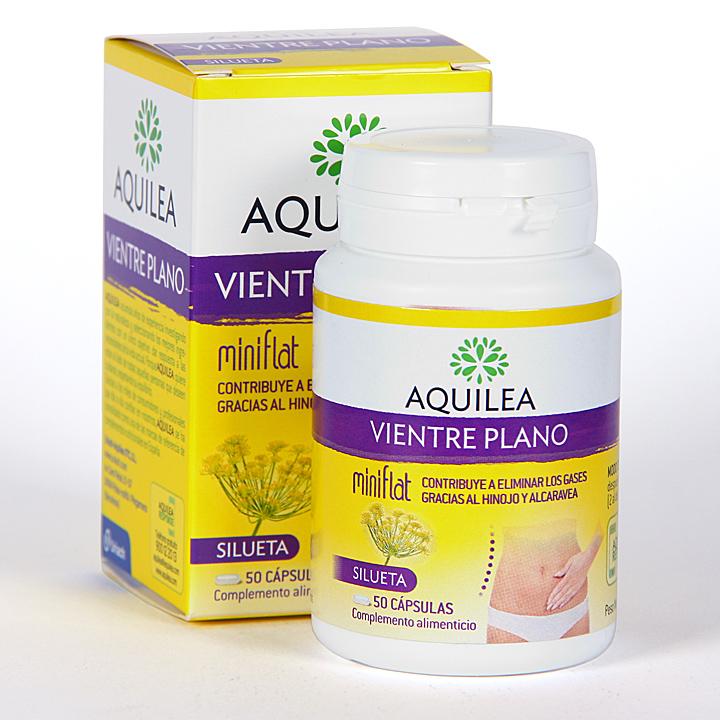 Farmacia Jiménez | Aquilea mini flat Vientre Plano 50 cápsulas