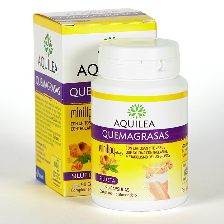 Farmacia Jiménez | Aquilea Quemagrasas Minilipo Plus 90 cápsulas