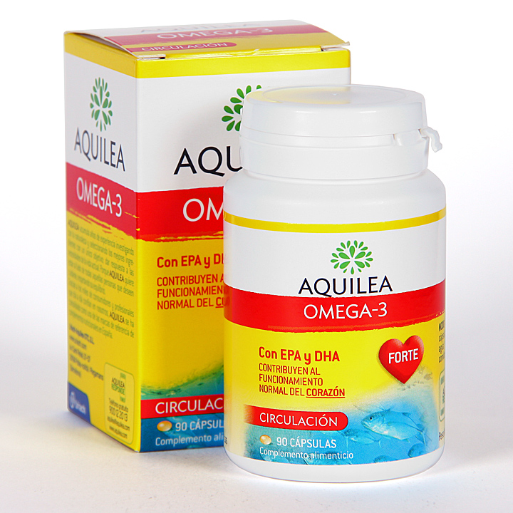 Farmacia Jiménez | Aquilea Omega-3 90 cápsulas gelatina blanda