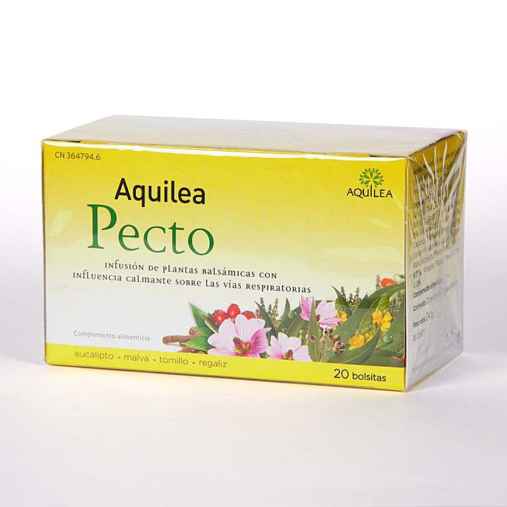 Farmacia Jiménez | Aquilea Pecto Infusión 20 bolsitas