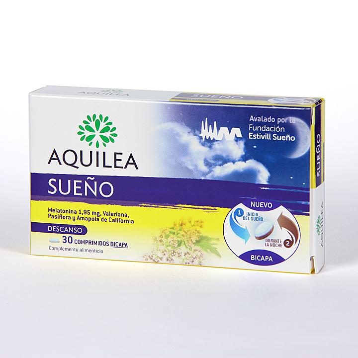 Farmacia Jiménez | Aquilea Sueño 30 comprimidos bicapa