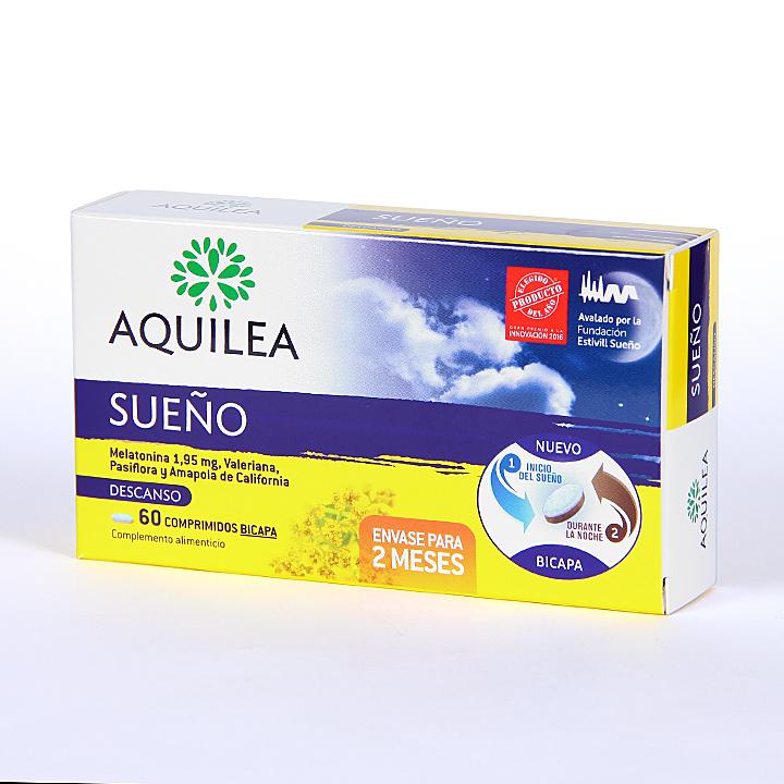 Farmacia Jiménez | Aquilea Sueño 60 comprimidos bicapa