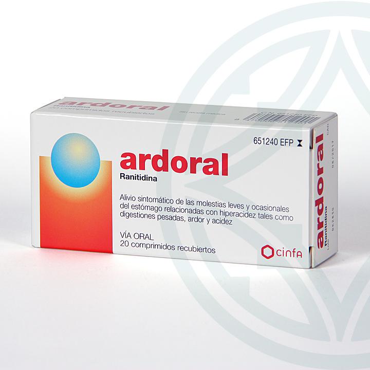 Farmacia Jiménez | Ardoral 75 mg 20 comprimidos