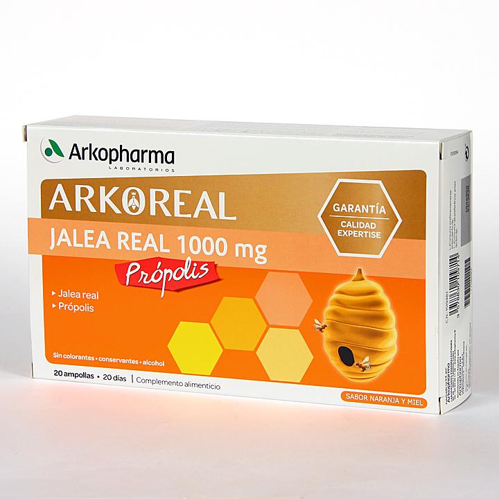Farmacia Jiménez | Arko Real Jalea Real 1000 mg + Propolis 20 ampollas