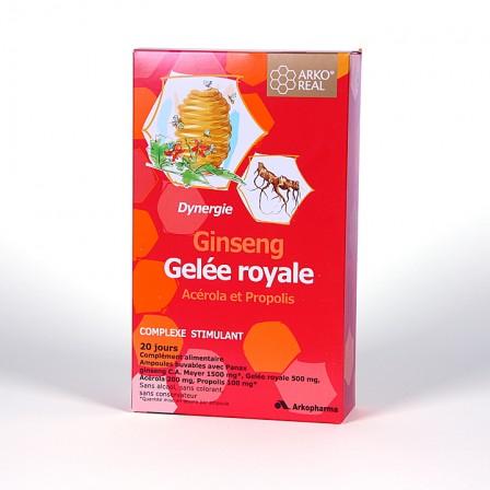 Farmacia Jiménez | Arko Real Jalea Real Ginseng 20 ampollas