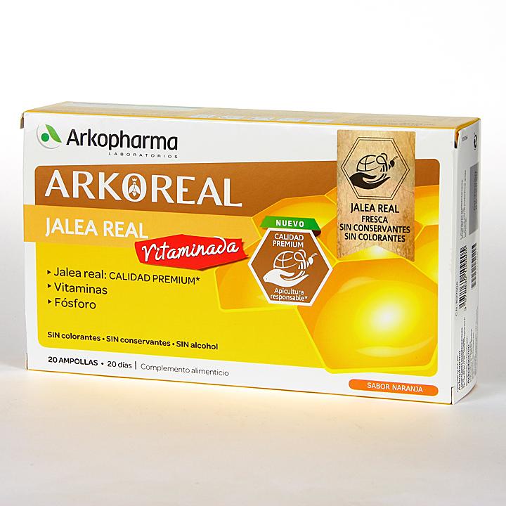 Farmacia Jiménez | Arko Real Jalea Real Vitaminada 20 ampollas