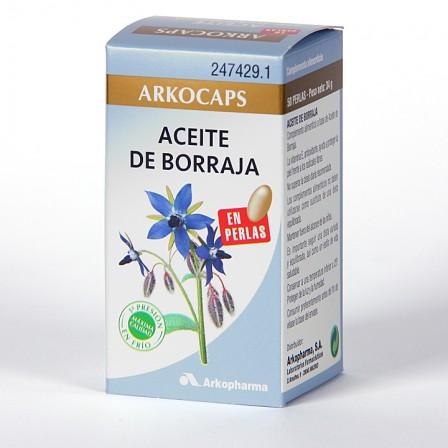 Farmacia Jiménez | Arkocapsulas Aceite de Borraja 50 Perlas