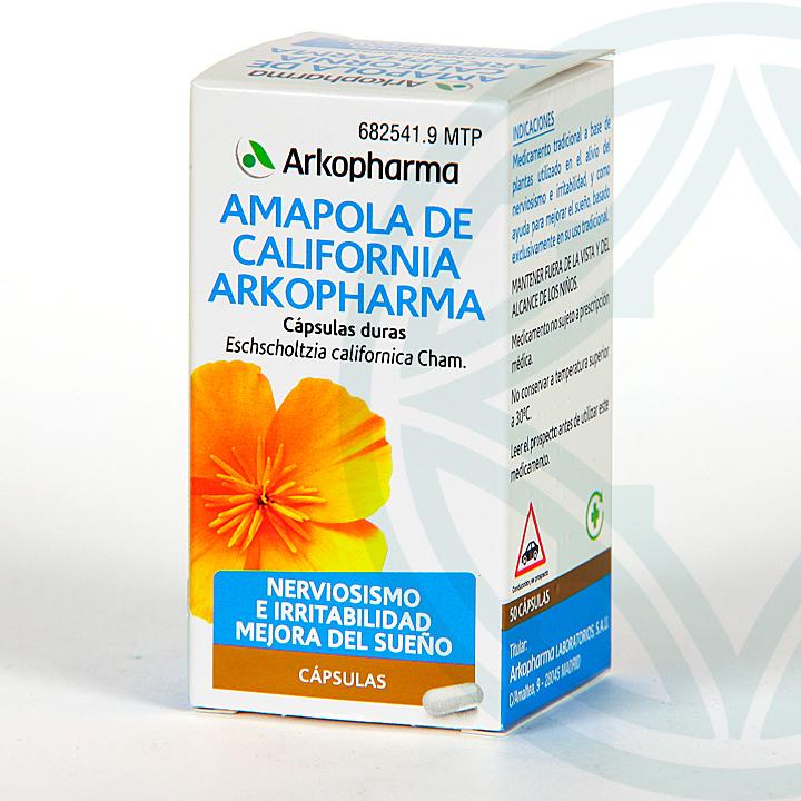 Farmacia Jiménez | Arkocapsulas Amapola de California 50 cápsulas