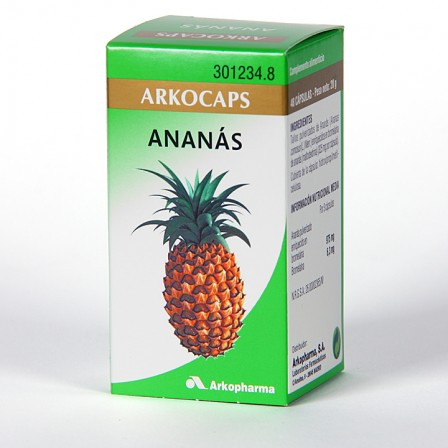 Farmacia Jiménez | Arkocapsulas Ananás 48 cápsulas
