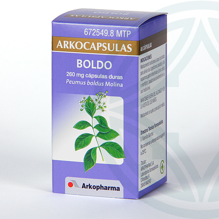 Farmacia Jiménez | Arkocapsulas Boldo 48 cápsulas