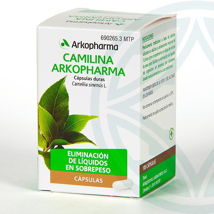 Farmacia Jiménez | Arkopharma Camilina 100 cápsulas