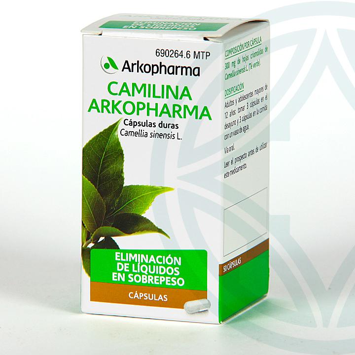 Farmacia Jiménez | Arkopharma Camilina 50 cápsulas