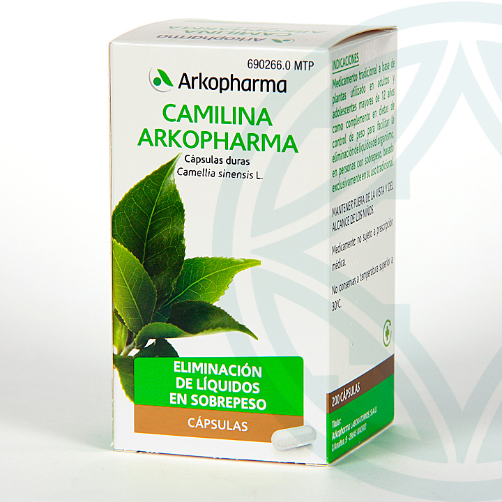 Farmacia Jiménez | Arkopharma Camilina 300 mg 200 cápsulas