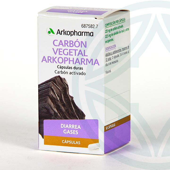 Farmacia Jiménez | Arkopharma Carbón Vegetal 50 cápsulas