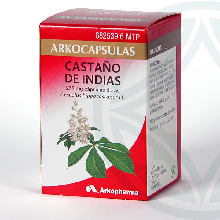 Farmacia Jiménez | Arkocapsulas Castaño de Indias 84 cápsulas