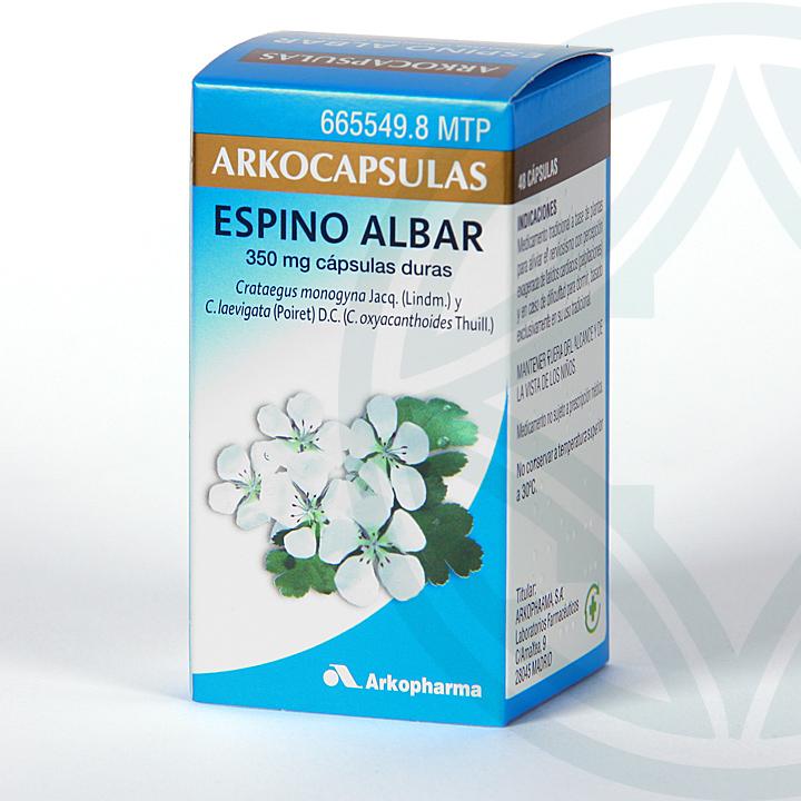 Farmacia Jiménez | Arkocapsulas Espino Albar 48 cápsulas