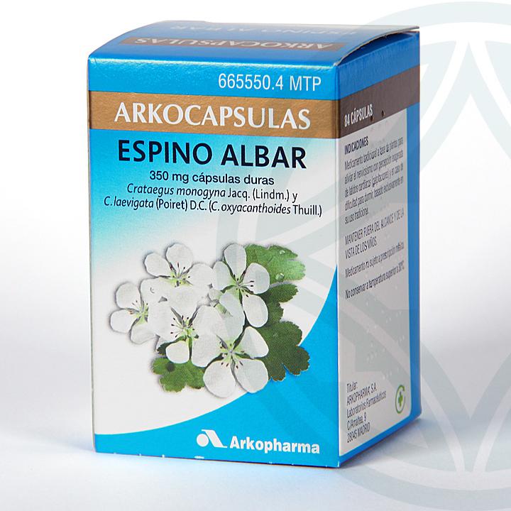 Farmacia Jiménez | Arkocapsulas Espino Albar 84 cápsulas
