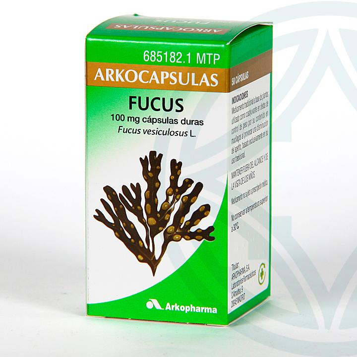 Farmacia Jiménez | Arkocapsulas Fucus 50 cápsulas