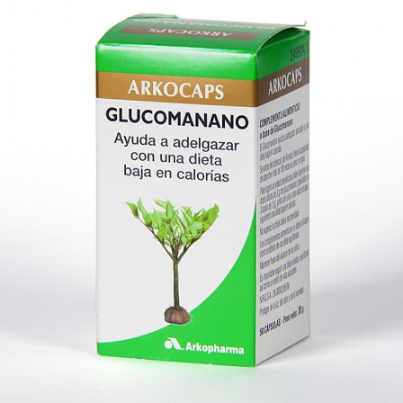 Farmacia Jiménez | Arkocapsulas Glucomanano 50 cápsulas