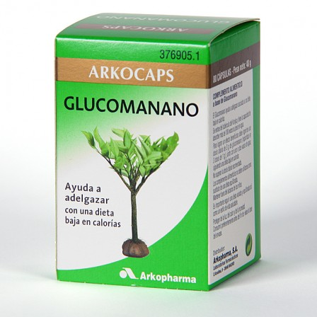 Farmacia Jiménez | Arkocapsulas Glucomanano 80 cápsulas