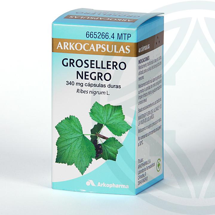 Farmacia Jiménez | Arkocapsulas Grosellero Negro 48 cápsulas