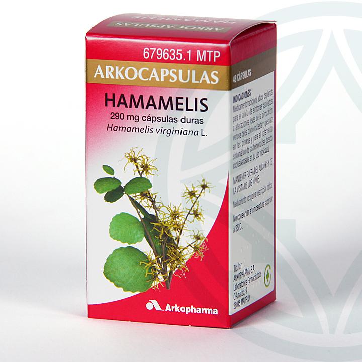 Farmacia Jiménez | Arkocapsulas Hamamelis 48 cápsulas