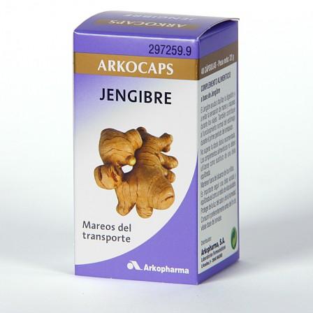 Farmacia Jiménez | Arkocapsulas Jengibre 48 cápsulas