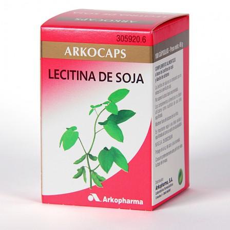 Farmacia Jiménez | Arkocapsulas Lecitina de Soja 100 cápsulas