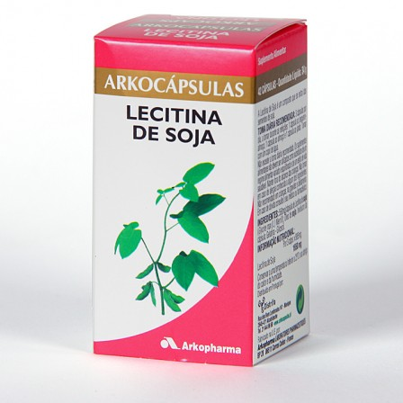 Farmacia Jiménez | Arkocapsulas Lecitina de Soja 42 cápsulas
