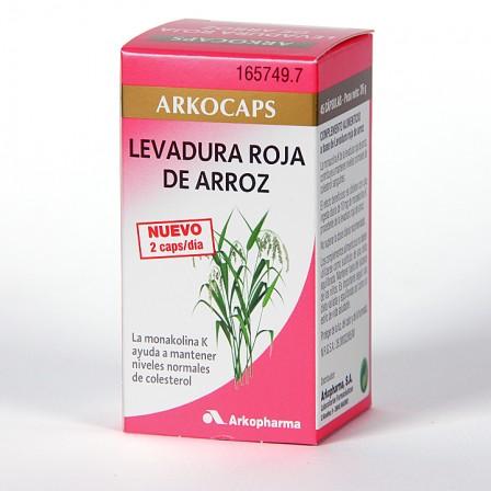 Farmacia Jiménez | Arkocapsulas Levadura Roja de Arroz 45 cápsulas