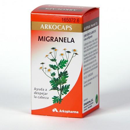 Farmacia Jiménez | Arkocapsulas Migranela 48 cápsulas