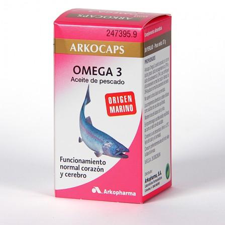 Farmacia Jiménez | Arkocapsulas Omega 3 Aceite de Pescado 50 perlas