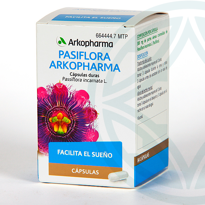 Farmacia Jiménez | Arkopharma Pasiflora 84 cápsulas
