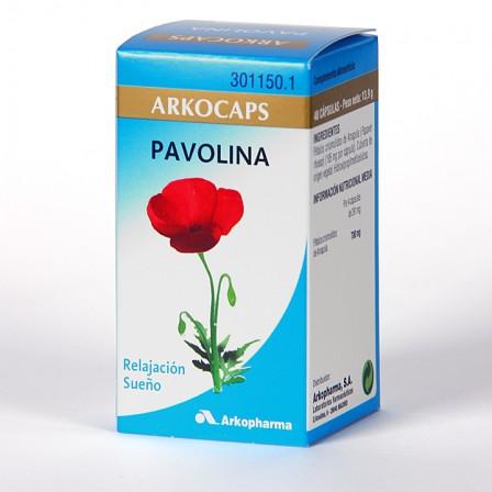 Farmacia Jiménez   Arkocapsulas Pavolina 48 cápsulas