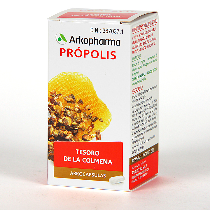 Farmacia Jiménez | Arkopharma Própolis 42 cápsulas