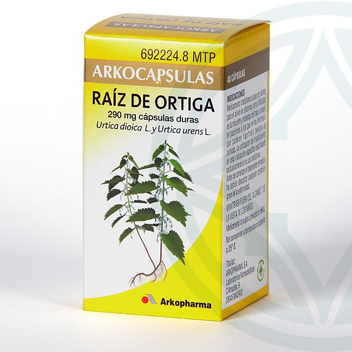 Farmacia Jiménez | Arkocapsulas Raíz de Ortiga 48 cápsulas