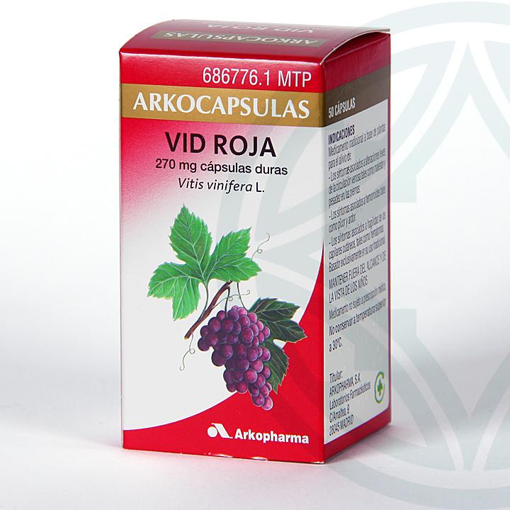 Farmacia Jiménez | Arkocapsulas Vid Roja 50 cápsulas