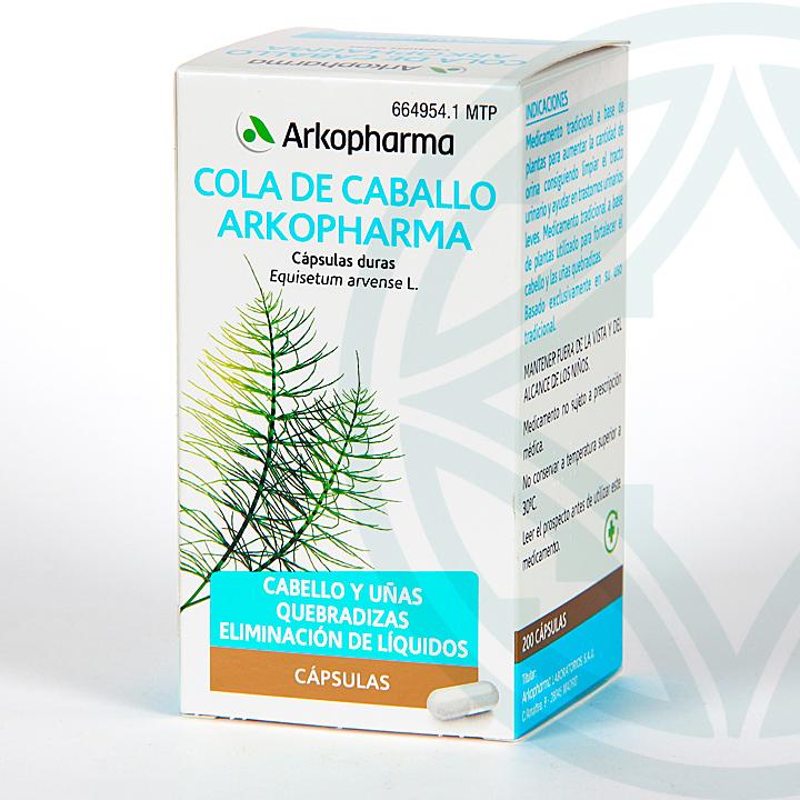 Farmacia Jiménez | Arkopharma Cola de Caballo 200 cápsulas