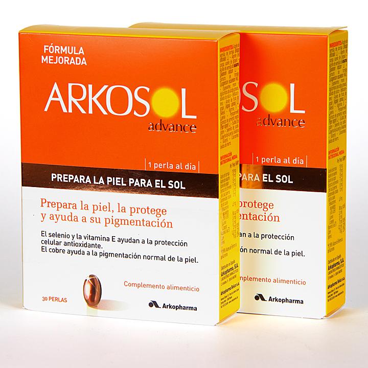 Farmacia Jiménez | ArkoSol Advance 30 Perlas Pack Duplo -20%
