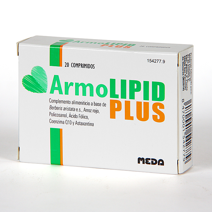 Farmacia Jiménez | ArmoLipid Plus 20 comprimidos