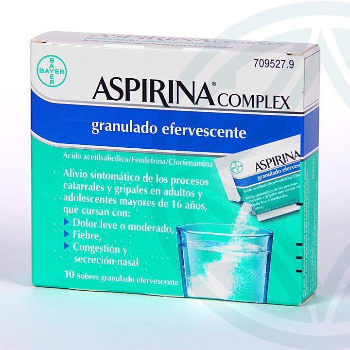 Farmacia Jiménez | Aspirina Complex 10 sobres