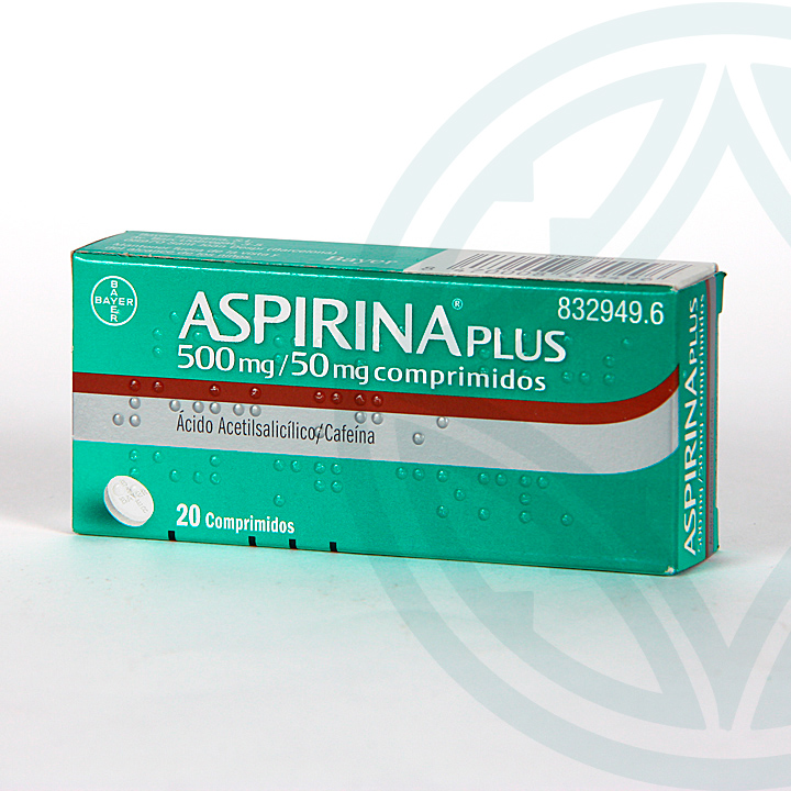Farmacia Jiménez | Aspirina Plus 20 comprimidos