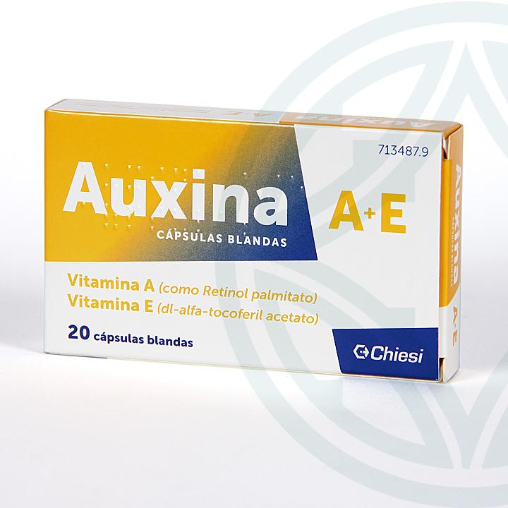 Farmacia Jiménez | Auxina A+E 20 cápsulas