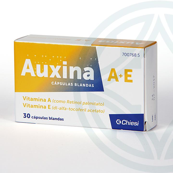 Farmacia Jiménez | Auxina A+E 30 cápsulas
