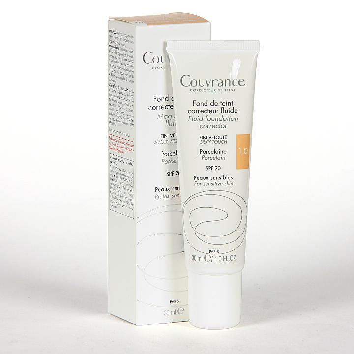 Farmacia Jiménez | Avene Couvrance Maquillaje Fluido Oil-free Porcelana spf 15 30 ml