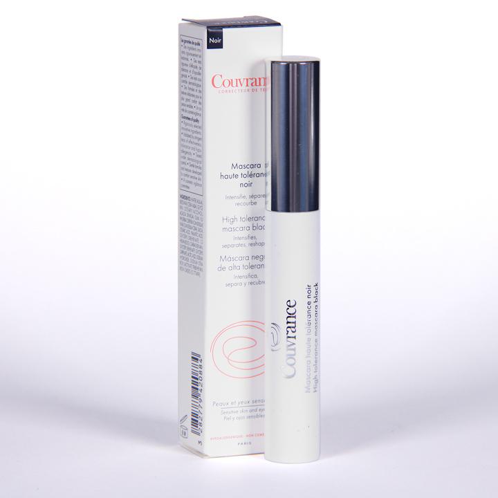Farmacia Jiménez | Avene Couvrance Máscara de Pestañas alta tolerancia Negro 7 ml