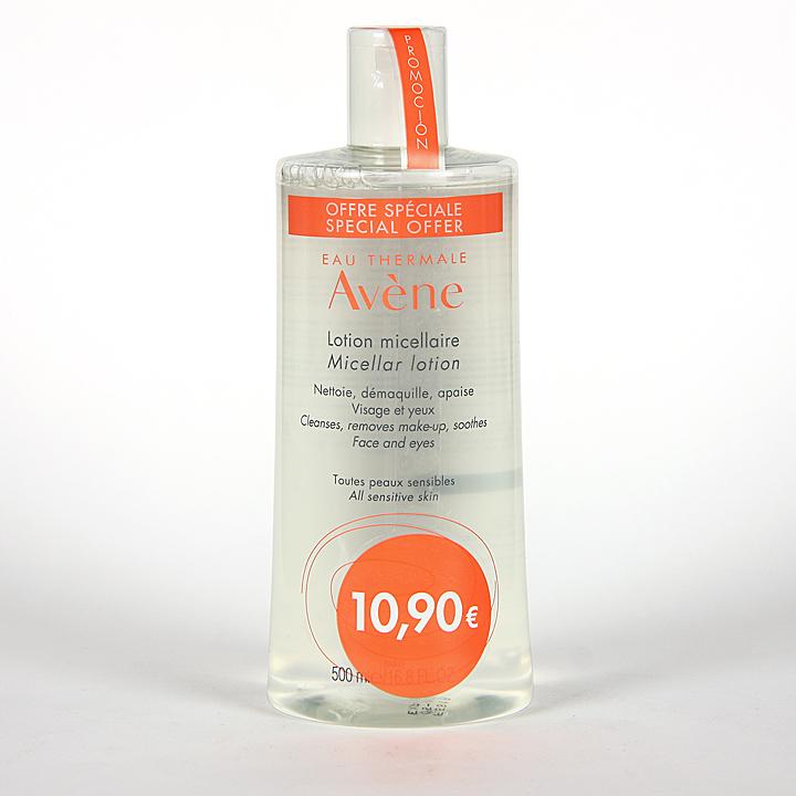 Farmacia Jiménez | Avene Loción Micelar Limpiadora y Desmaquillante 500 ml