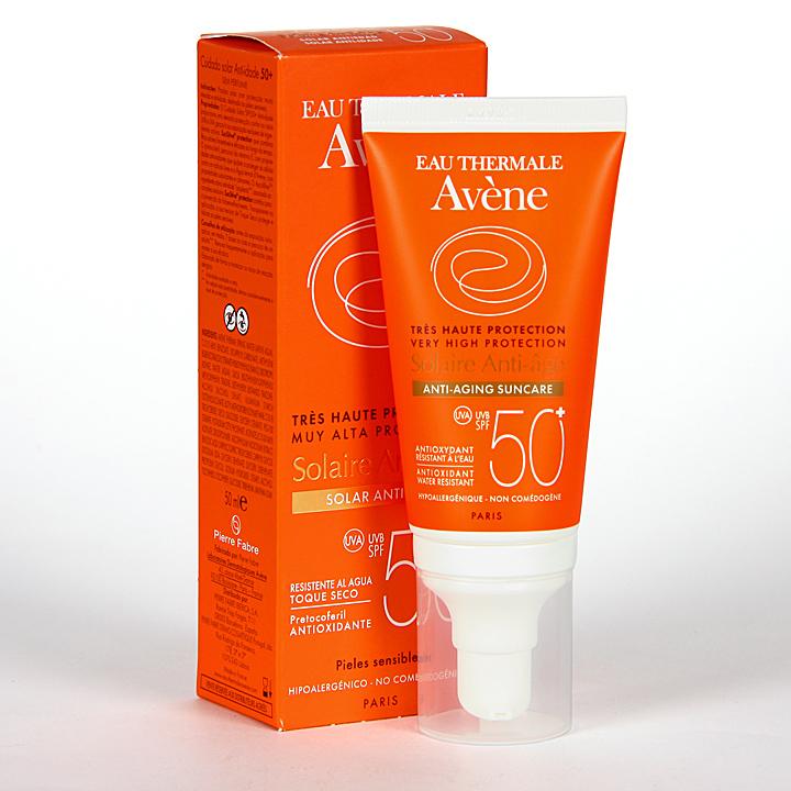 Farmacia Jiménez | Avene Solar Antiedad SPF 50+ 50 ml